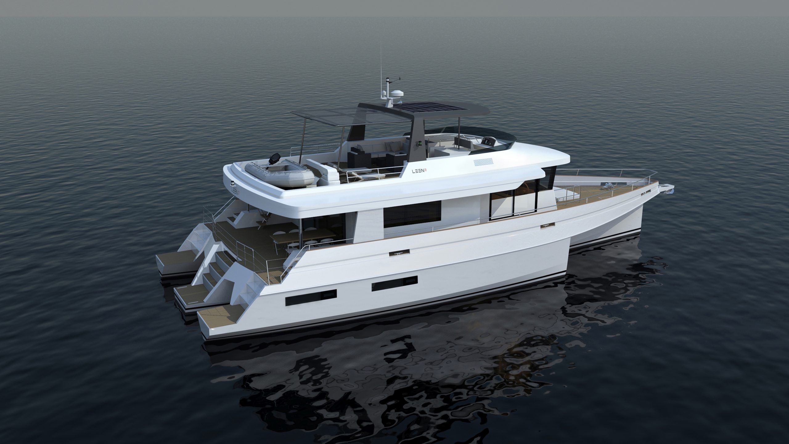 LEEN-TRIMARANS chooses a hybrid propulsion solution 5