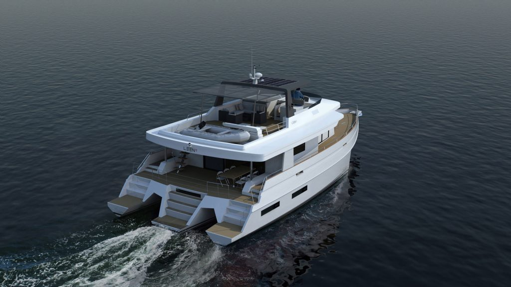 The concept of the trimaran definitely meets the requirements of offshore navigation 5