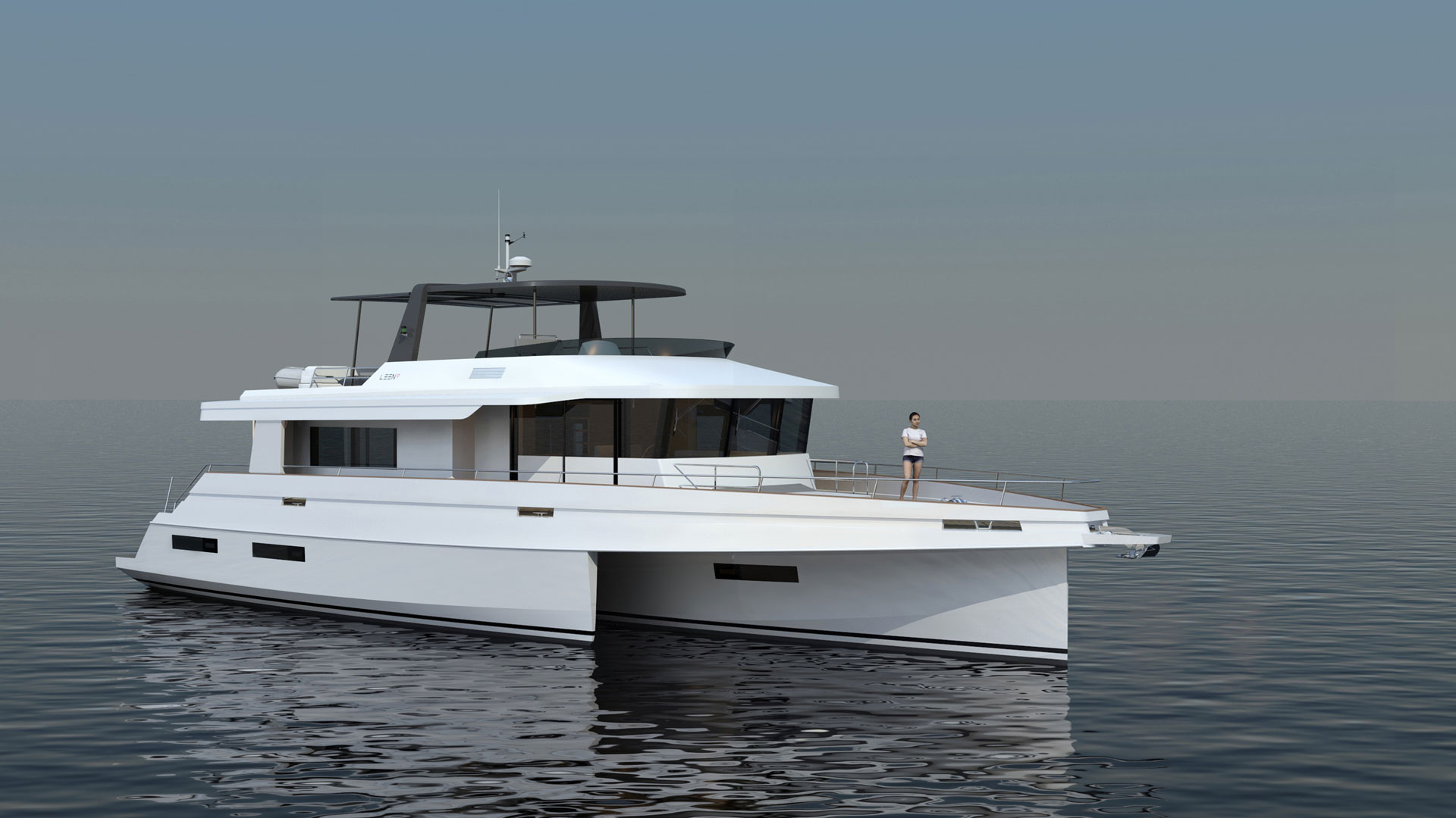 The concept of the trimaran definitely meets the requirements of offshore navigation 7